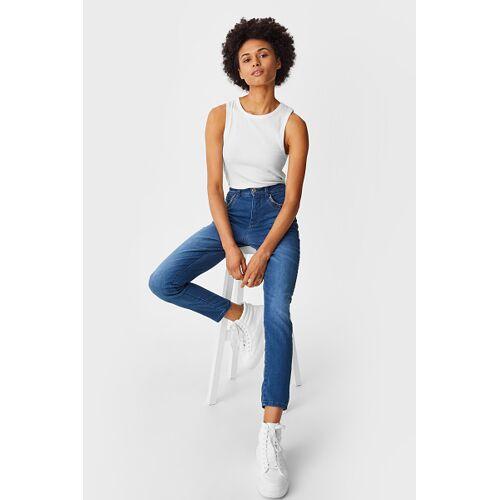 Yessica C&A Slim Jeans, Blau, Größe: 36