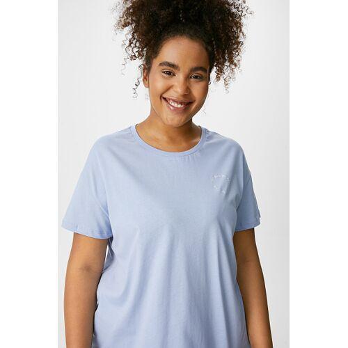 Clockhouse C&A CLOCKHOUSE-T-Shirt, Blau, Größe: 44