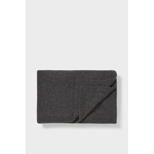 accessoires C&A C&A Kaschmirdecke-180 x 124 cm, Grau, Größe: 1 size