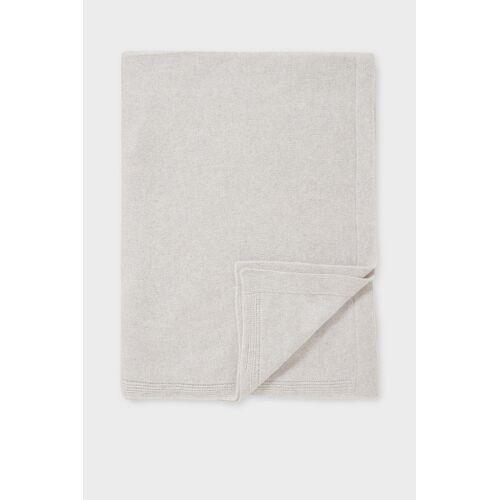accessoires C&A C&A Kaschmirdecke-180 x 124 cm, Weiß, Größe: 1 size
