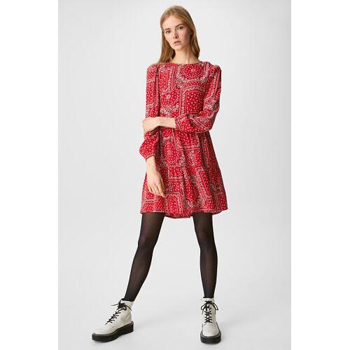 Clockhouse C&A CLOCKHOUSE-Kleid, Rot, Größe: 40/Female