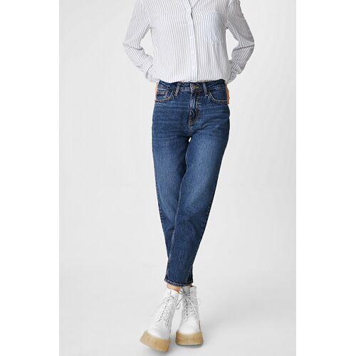 Clockhouse C&A CLOCKHOUSE-Mom Jeans, Blau, Größe: 38/Female