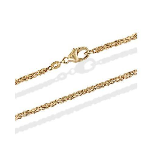 Goldmaid Halskette Königskette 585 Gelbgold - Sonderkette 1,8 mm 90 cm