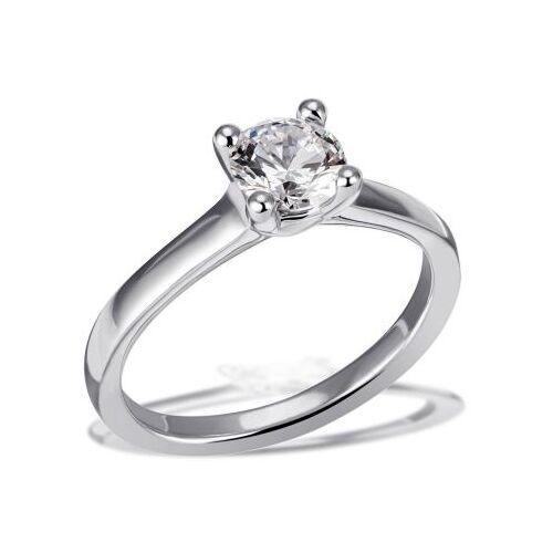 Goldmaid Jana Ring 750/- Weißgold 1 Brillant 1,00 ct. Lupenrein oder SI inkl. IGI Guta...