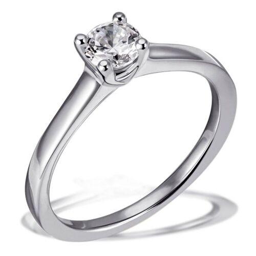 Goldmaid Jana Ring 750/- Weißgold 1 Brillant 0,50 ct. Lupenrein oder SI inkl. IGI Guta...