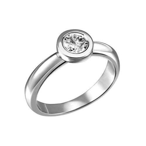 Goldmaid Stella Ring 750/- Weißgold 1 Brillant 0,50 ct. Lupenrein oder SI inkl. IGI Gu...