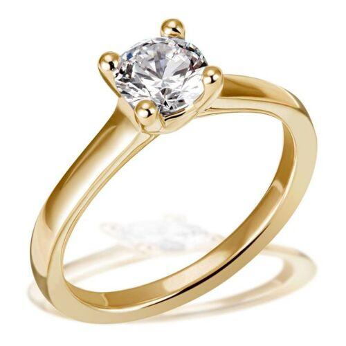 Goldmaid Jana Ring 750/- Gelbgold 1 Brillant 1,00 ct. Lupenrein oder SI inkl. IGI Guta...