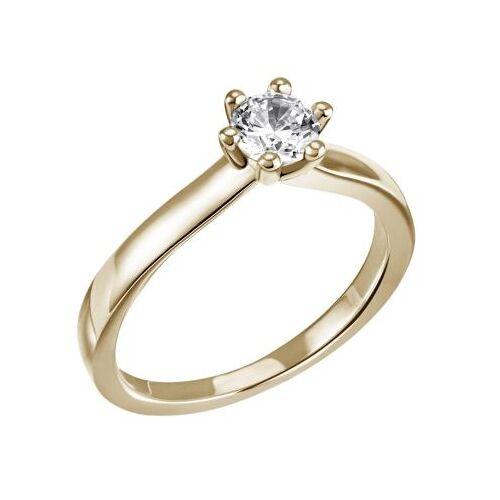 Goldmaid Laura Ring 750/- Gelbgold 1 Brillant 0,50 ct. Lupenrein oder SI inkl. IGI Gut...