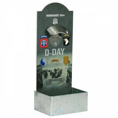 101 Inc. Wandflaschenöffner D-Day