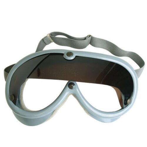Bundeswehr Original BW Staubschutzbrille grau gebraucht