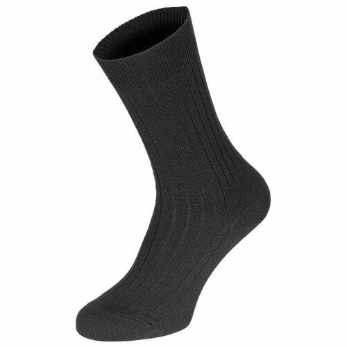 Belgische Armee Belgische Socke schwarz neuwertig, Größe 34-35