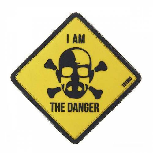101 Inc 3D Patch I am the danger gelb