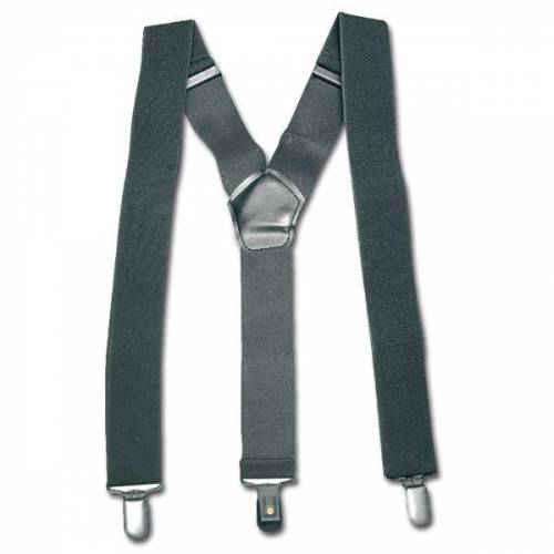Mil-Tec Hosenträger mit Clip schwarz