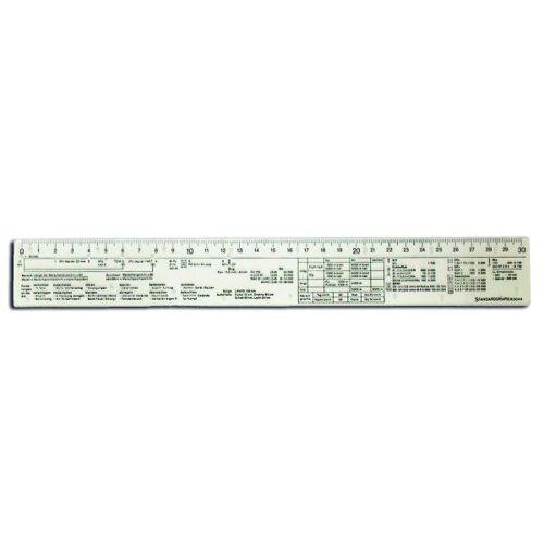 Standardgraph Taktiklineal 30 cm