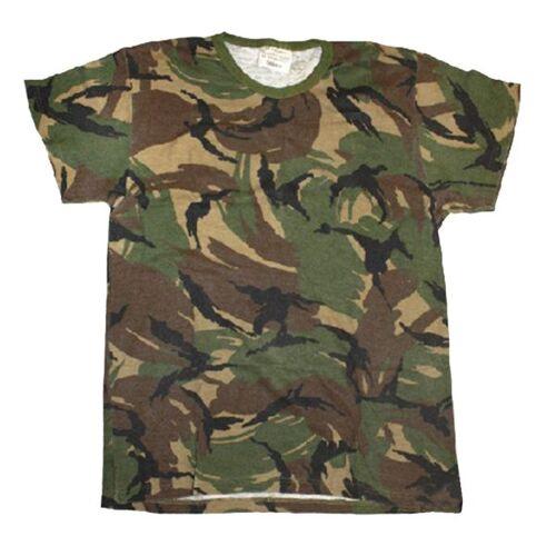 Holländische Armee Holländisches T-Shirt tarn gebraucht