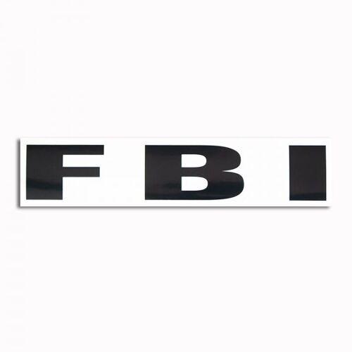 Unbekannt Transparenter Aufkleber FBI