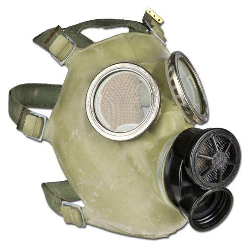 Polnische Armee Polnische ABC-Schutzmaske mit Tasche Moro gebraucht