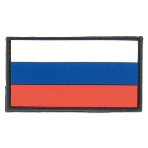 Unbekannt 3D-Patch Russland Fahne