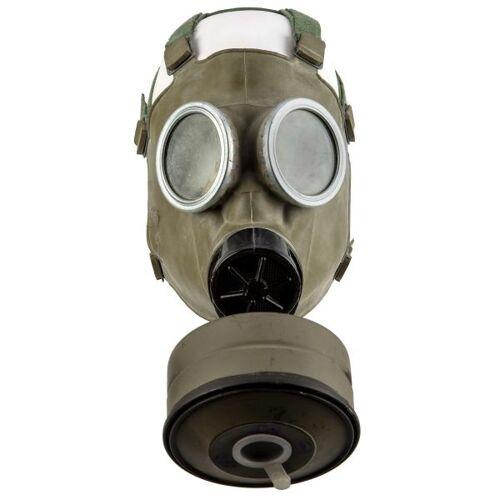 Polnische Armee Polnische ABC Gasmaske MC-1 mit Filter und Tasche gebraucht