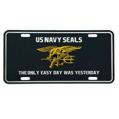 101 Inc. Nummernschild US Navy Seals