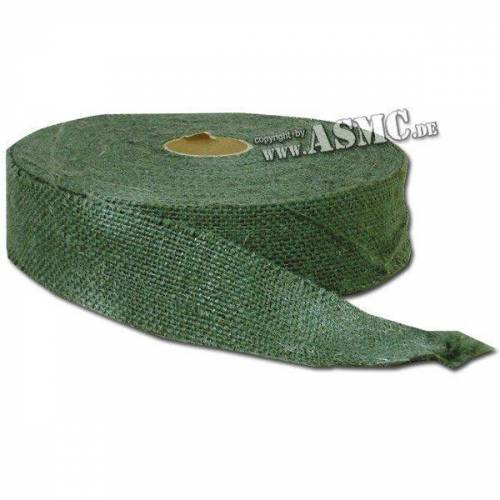 Mil-Tec Juteband Rolle grün