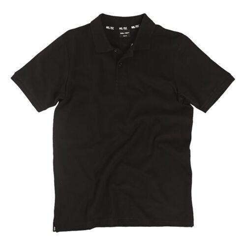 Mil-Tec Poloshirt Pikee 250 g schwarz, Größe XXL