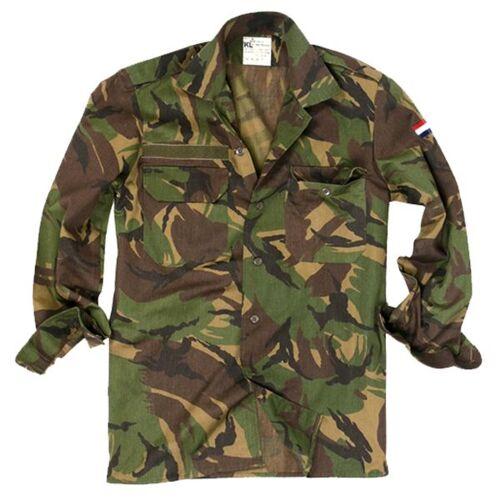 Holländische Armee Holländisches Feldhemd tarn gebraucht, Größe 6080/9500
