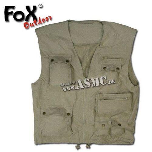 Fox Outdoor Outdoor Weste khaki, Größe L