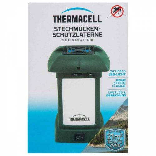 Thermacell Insektenschutz Outdoor-Laterne MR-9L oliv