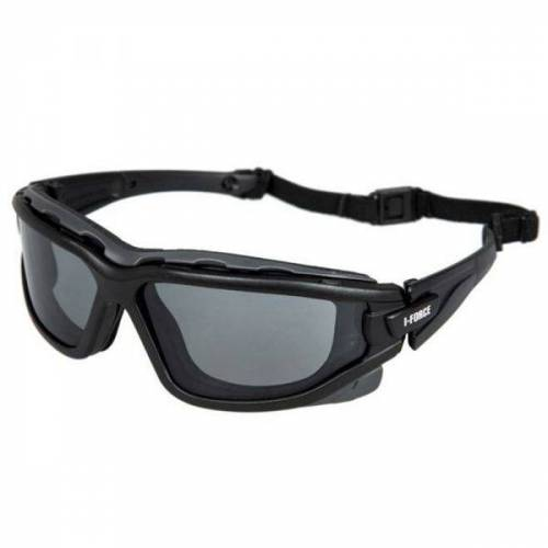 Pyramex Safety Pro Pyramex Schutzbrille I-Force Gray Antifog Glasses schwarz
