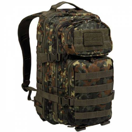 Mil-Tec Rucksack US Assault Pack flecktarn