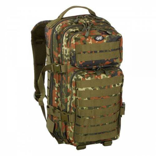 MFH Rucksack US Assault Pack flecktarn