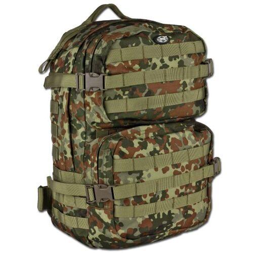 MFH Rucksack US Assault Pack III flecktarn
