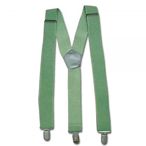 Mil-Tec Hosenträger mit Clip oliv