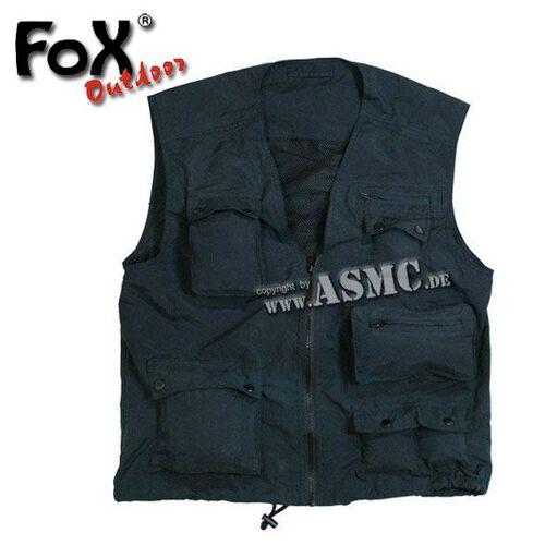 Fox Outdoor Outdoor Weste schwarz