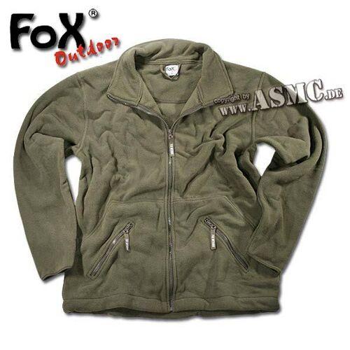 Fox Outdoor Fleecejacke Fox Arber oliv