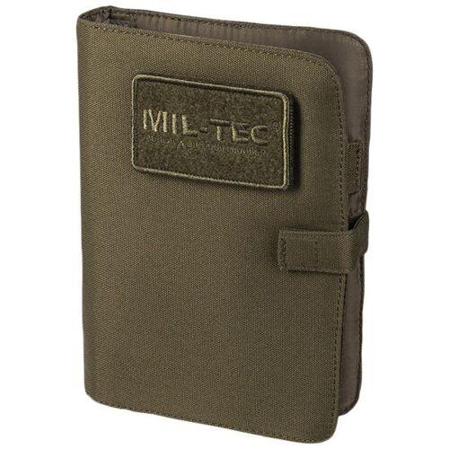 Mil-Tec Tactical Notebook small oliv