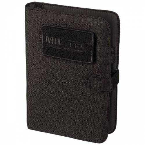 Mil-Tec Tactical Notebook small schwarz