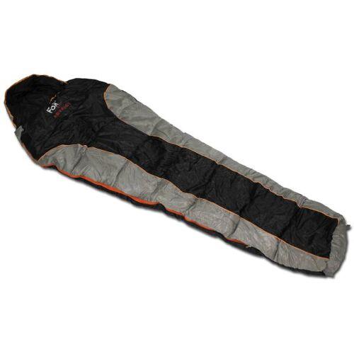 Fox Outdoor Mumienschlafsack Fox Outdoor Advance schwarz/grau