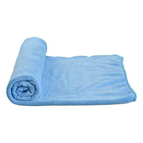 Care Plus Microfaser Handtuch blau