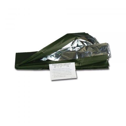 Mil-Tec Rettungsdecke silber/oliv