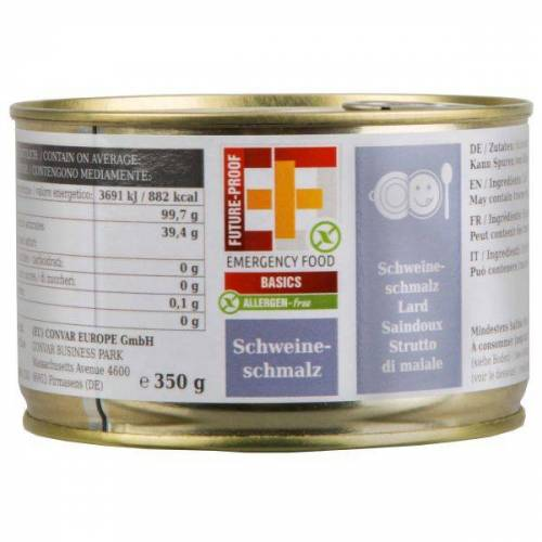 EF Emergency Food Schweineschmalz