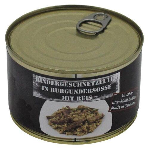 MFH Rindergeschnetzeltes mit Reis Vollkonserve 400 g
