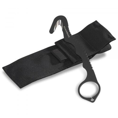 Benchmade Gurtschneider 8 BLKW Rescue Hook Strap Cutter