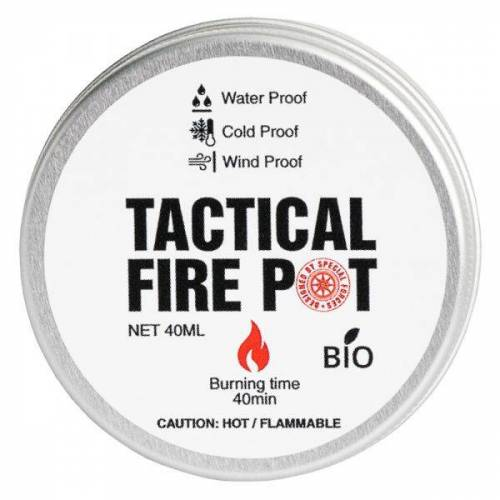 Tactical Foodpack Brenngel Fire Pot 40 ml