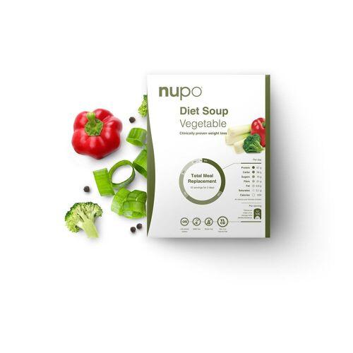 nupo Diet Soup - 12x32g - Vegetable