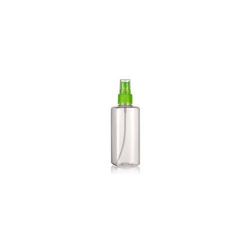 """200ml PET-Flasche """"Karl"""" grün mit Sprühzerstäuber"""