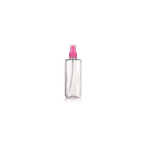 """300ml PET-Flasche """"Karl"""" pink mit Sprühzerstäuber"""