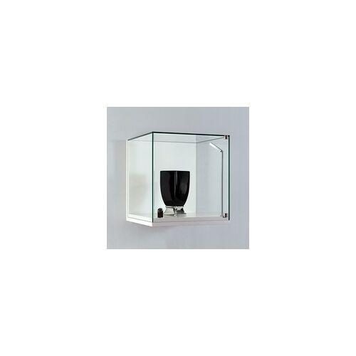 JTF-Vitrinen Kleine Glasvitrine für die Wand mit Flügeltür