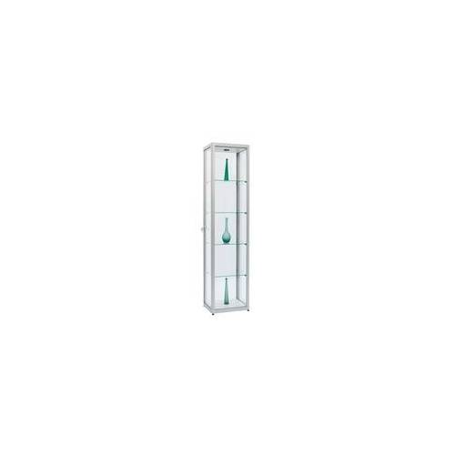 JTW-Vitrinen Glasvitrine 50 x 50 x 200 cm abschließbar